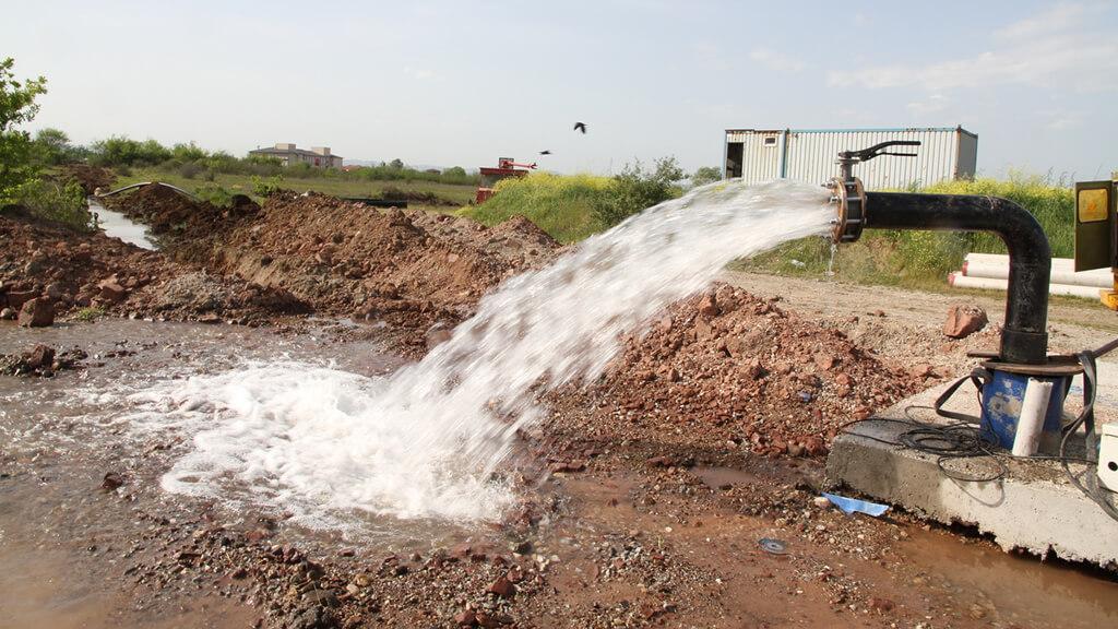 Killi Topraktan Su Çıkarmı